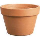 Southern Patio - Azalea Clay Pot - Terra Cotta - 8 Inch