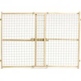 Midwest Homes For Pets - Wood/Wire Mesh Pet Gate - Natural - 32 H X 29 - 50 W