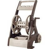 The Ames Company - Neverleak 250 Deluxe Hose Reel Cart - Tan