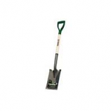 Truper Tools  - Tru Tough Garden Spade D-Grip Handle - Steel/Wood - 30 Inch