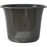 Bloem - Expressions Planter - Charcoal - 6 Inch