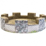 Ware Mfg-  Dog/Cat - Corrugated Catnip Castle--14Wx14Dx3.5H