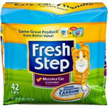 Clorox Petcare Products - Fresh Step Multi - Cat Clumping Cat Litter - Scented - 42 Pound