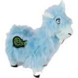 Quaker Pet Group - Godog Buck Tooth Llama Durableplush Dog Toy - Blue - Small