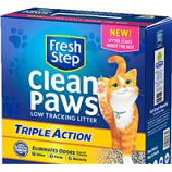 Clorox Petcare Products - Fresh Step Clean Paws Triple Action Litter - 18 Lb
