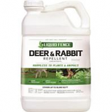 Liquid Fence - Liquid Fence Deer & Rabbit Repellent-2.5 Gallon Conc