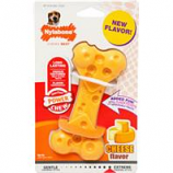 Nylabone Corp (Bones)-Dura Chew Cheese Bone-Yellow-Medium
