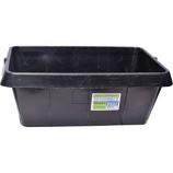 Tuff Stuff Products - Rubber Pan - Black - 21 Quart