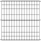 Panacea Products - Multi-Purpose Grid Fence Panel - Black - 30 X 36 Inch