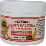 Flukers - Repta Calcium With D3  - Strawberry/Banana - 2 Oz