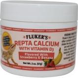 Flukers - Repta Calcium With D3 - Strawberry/Banana - 2 Oz