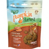 Emerald Pet Products - Pumpkin Harvest Chewy Dog Treats - Pumpkin/Sweet P - 6 Oz