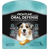 Petiq - Frontline Oral Defense Daily Oral Health Chews - Medium/14 Count