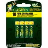 Gogreen Power - Alkaline Battery - Aaa/4 Pack