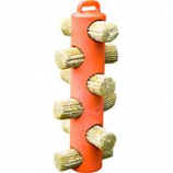 Unipet Usa - Hentastic Chicken Treat 6 Hole Feeder-Orange