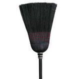 Nexstep Commercial Products - Warehouse 100% Black Corn Broom - Black - 14 Inch