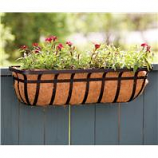 Panacea  - Window Planter-Black-30 Inch