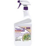 Bonide Products  - Neem Oil Fungicide Miticide Insecticide Rtu--1 Quart