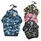 Casual Canine - Camo Hoodie -Xsmall - Pink