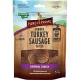 Emerald Pet Products  - Purely Prime Turkey Sausage Slices - Original Turkey - 3Oz