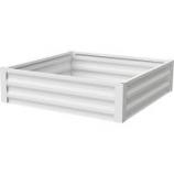 Panacea Products - Urban Gardener Steel Raised Planter - Eggshell White - 36 X 36