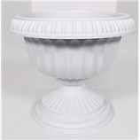 Novelty Mfg -Grecian Urn Planter-Stone-12 Inch