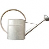 Panacea  - Vintage Galvanized Watering Can-Galvanized-3.2 Gallon