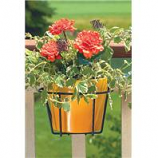 Panacea  - Adjustable Flower Pot Holder-Black-10 Inch
