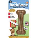 Pet Qwerks - Barkbone Mesquite Flavored Nylon Bone-Chicken-Small