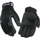 Kinco International-Lined Cold Weather Glove-Black-Large