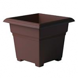 Novelty Mfg -Countryside Tub Planter-Brown-14 Inch