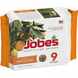 Easy Gardener - Jobes Fruit Tree Fertilizer Spikes-9Pk