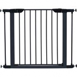 Midwest Homes For Pets - Steel Glow Stripe Pet Gate - Graphite - 29 H X 29 - 38 W