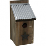 Audubon/Woodlink - Rustic Farmhouse Bluebird House - Natural