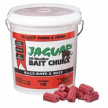 Motomco - Jaguar All-Weather Bait Chunx Rat & Mouse Killer-20 Gm/9 Pound