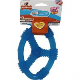 Tfh Publications/Nylabone - Puppy Oval Ring Blue - Peanut Butter - Wolf