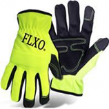 Boss Manufacturing -Hi-Vis Pu Palm Glove With Foam Padding-Xxl