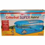 Super Pet - Container - Kaytee Crittertrail Super Habitat - Blue