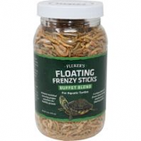 Flukers - Floating Frenzy Sticks Bb For Aquatic Turtles - 6 Oz