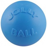 Jolly Pets - Bounce-N-Play Ball - Light Blue - 8 Inch