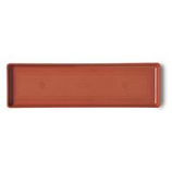 Novelty Mfg -Countryside Flowerbox Tray-Terracota-18 Inch