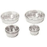 Bond Manufacturing - Heavy Duty Plastic Saucer-Clear-14 Inch