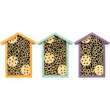 Natures Way Bird Products - Nature'S Way Bee House - Assorted - 8X6X3.5