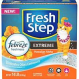 Clorox Petcare Products - Fresh Step Cat Litter - Hawaiian Aloha - 14 Lb