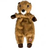 Ethical Dog - Plush Furzz Beaver - Brown - 13.5In