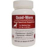 Our Pets Pharmacy - Quad-Worm - 21-45Lb/4 Ct