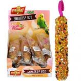 A&E Cage Company - A&E Treat Stick Parakeet Display - Fruit - 12 Piece
