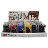 3M - Vetrap Bandaging Tape Display - Assorted - 24 Piece