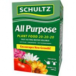 Schultz - Water Soluble All Purpose Plant Food 20-20-20--1.5 Lb