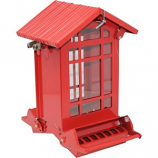 Audubon/Woodlink - Chateau Squirrel - Resistant Seed Feeder - Red - 7  Lb